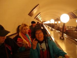 escalera Metro Moscú