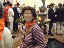 montse davant feretre H Chávez