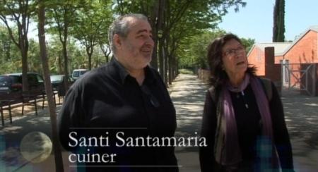 amb Santi Santamaria, Escola Mestres Montaña