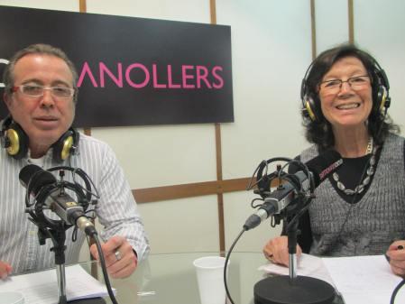 Paco Agudo amb Montserrat Ponsa