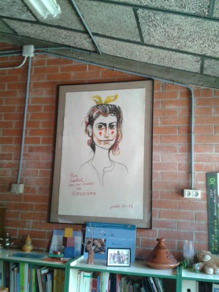 Retrato Guasamain en Mestres Montanya
