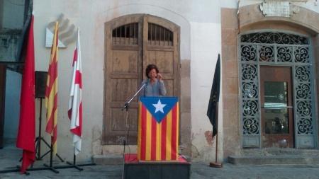Montserrat Homenatge HB agost 2014 Fossar de les Moreres