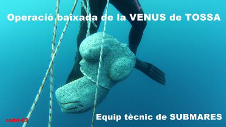 RODRI baixada Venus sota aigua Tossa