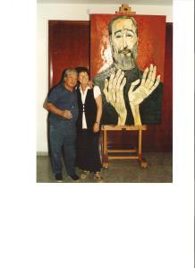 Guayasamin Montserrat frente retrato Fidel 1955 001