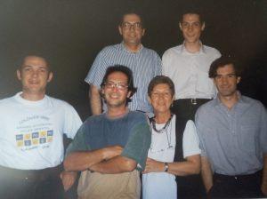 montserrat amb els cinc fills 1996