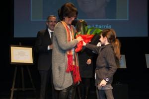 Montserrat medalla-ciutat-rita-ram-de-flors Rita